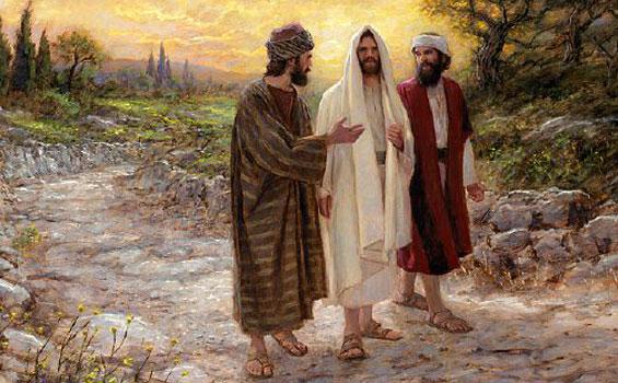 Yesus menampakkan diri di jalan ke Emaus